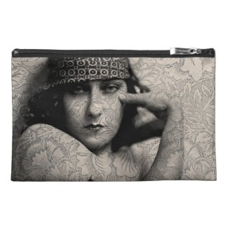 The Gloria Swanson Tattoo Travel Accessories Bag