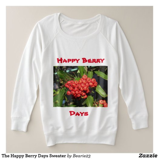 The Happy Berry Days Sweater