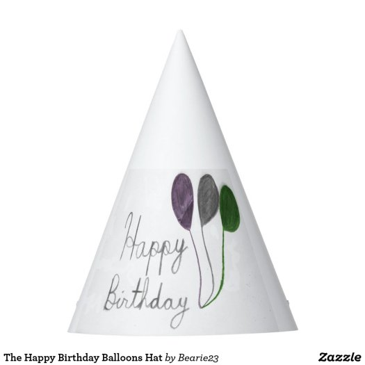 The Happy Birthday Balloons Hat