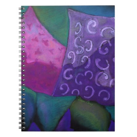 The Hideaway, Purple Pink Heaven Notebook