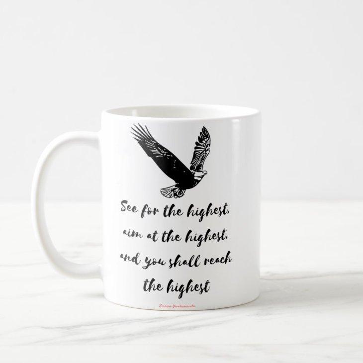 """The Highest"" - Inspirational mug - Swami Vivekana"