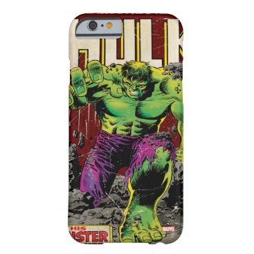 The Incredible Hulk Comic #105 Barely There iPhone 6 Case