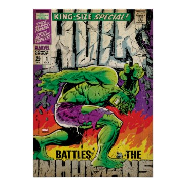 The Incredible Hulk King Size Special #1 Poster