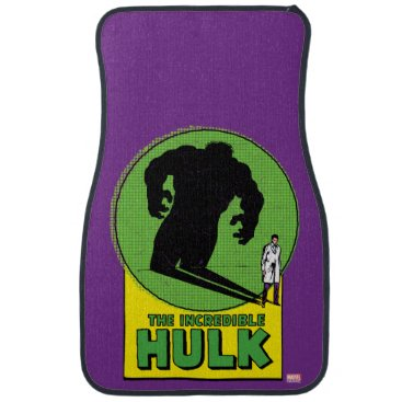 The Incredible Hulk Vintage Shadow Graphic Car Mat