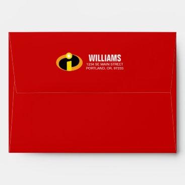 The Incredibles Logo Envelope