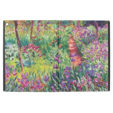 "The Iris Garden by Claude Monet iPad Pro 12.9"" Case"