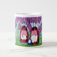 The Ladybug Family ~ Jumbo Mug