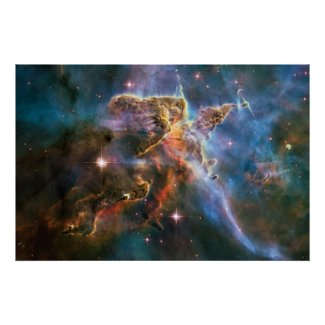 The Landscape of Carina Poster Print