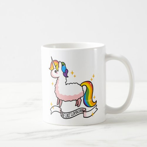 The Last Llamacorn Coffee Mug