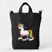 The Last Llamacorn Duck Bag