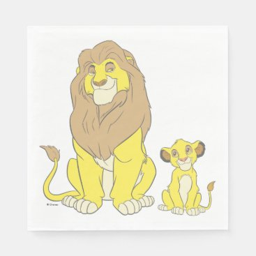 The Lion King | Mighty Kings Napkins