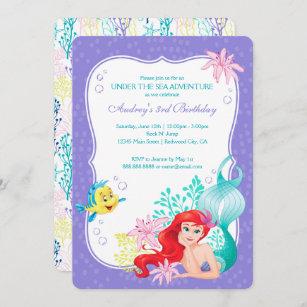 little mermaid invitations zazzle