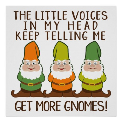 The Littles Voices Get More Gnomes Poster