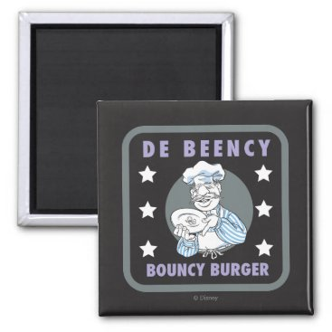 The Muppets | De Beency Bouncy Burger Logo Magnet