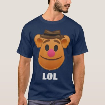 The Muppets| Fozzie Bear Emoji T-Shirt