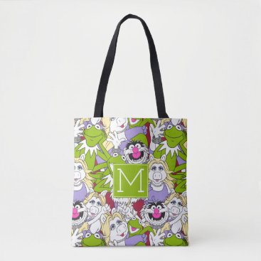 The Muppets   Monogram Oversized Pattern Tote Bag