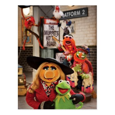 The Muppets Most Wanted Hits the Road! Postcard