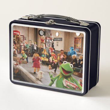 The Muppets Most Wanted | Kermit in Front Metal Lunch Box