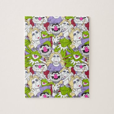 The Muppets | Oversized Pattern Jigsaw Puzzle