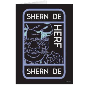 The Muppets | Shern De Herf Card