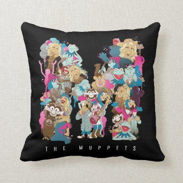 The Muppets | The Muppets Monogram Throw Pillow