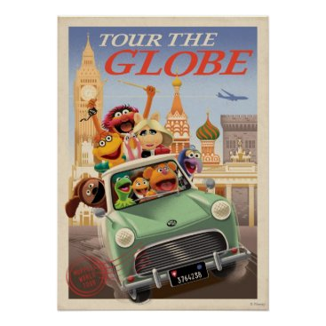 The Muppets Tour the Globe Poster