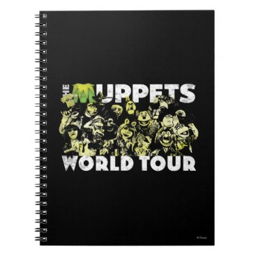 The Muppets World Tour Notebook