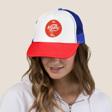 the nasty woman club trucker hat