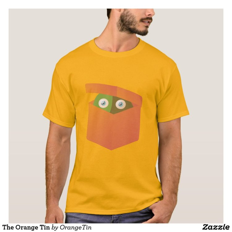 The Orange Tin T-Shirt