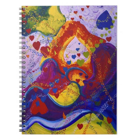 The Power of Love, Underground, Hearts, Abstract Notebook