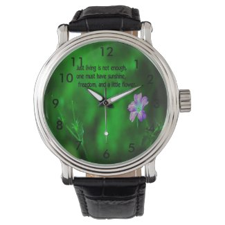 The secret to life wrist watches