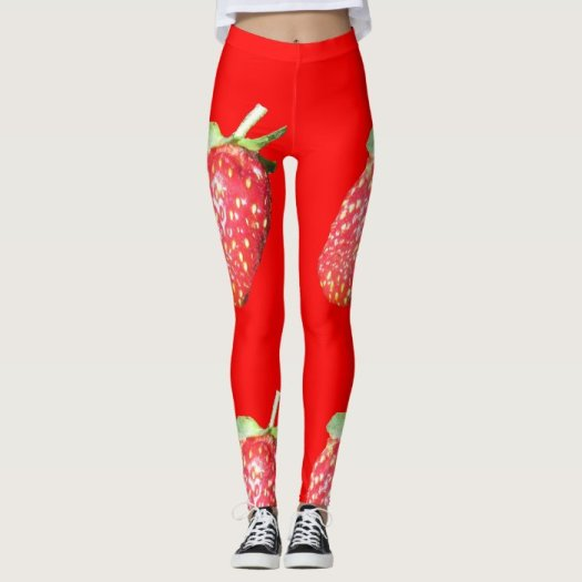 Click on the picture of the strawberry leggings to purchase these over on Zazzle.