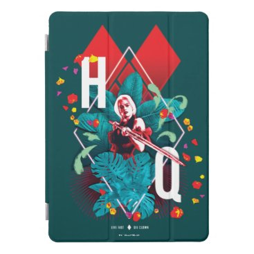 The Suicide Squad | Harley Quinn Floral Diamond iPad Pro Cover