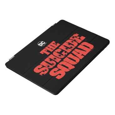 The Suicide Squad | Red and Black Logo iPad Pro Cover