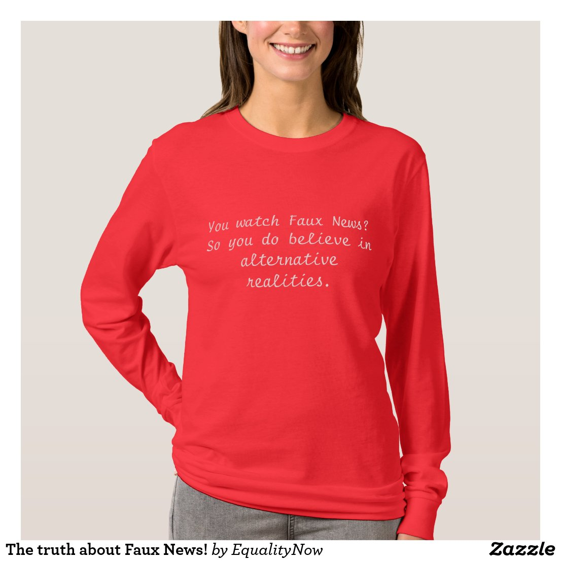 The Truth About Faux News! T-Shirt