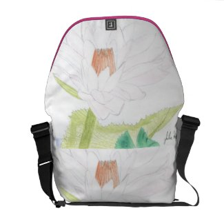 The Water Lily Bag Design by Julia Hanna Commuter Bags