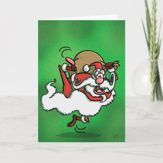 This is Santa!! greeting card card