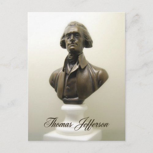Thomas Jefferson Postcard postcard