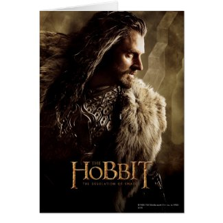 Thorin Character Poster 1 Greeting Card