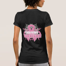 Thriving Breast Cancer Survivor. Tees
