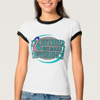 Thyroid Cancer Together We Make A Difference shirt