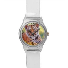 Tiger Baby Cub Wrist Watch