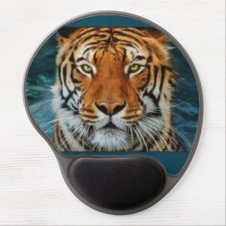 Tiger Face Gel Mouse Pad