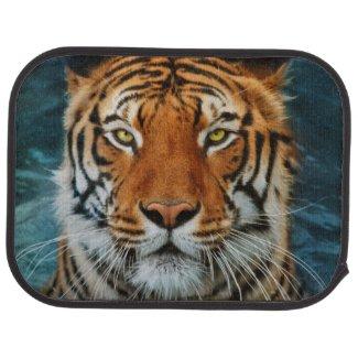 Tiger in Water Photograph Car Mat