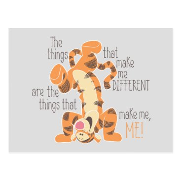 Tigger | Make Me, Me Quote Postcard