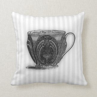 Time for Tea #8 Teacup Pillow