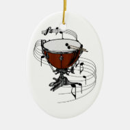 Timpani (Kettle Drum) Ornament
