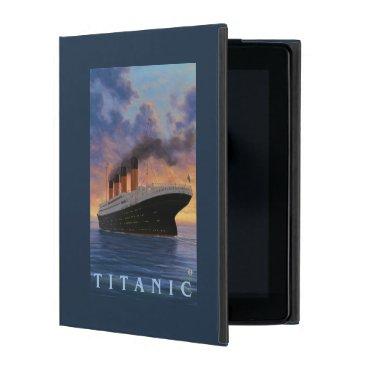 Titanic SceneWhite Star Line iPad Cover