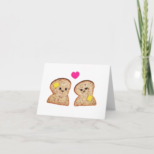 Toasty Love Holiday Card