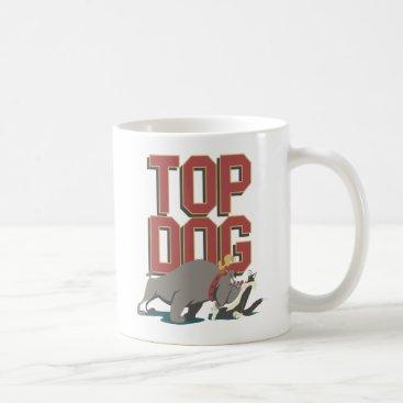"""Top Dog"" Spike Guarding TWEETY™ From SYLVESTER™ Coffee Mug"